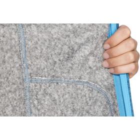 Meru Märsta Knitted Fleece Jacket Dam seaport melange